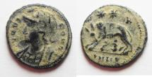 Ancient Coins - 	CONSTANTINE I AE 3 . COMMEMORATIVE, NICE DESERT PATINA