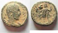 Ancient Coins -  Judaea. Caesarea Maritima under Trebonianus Gallus (AD 251-253). AE 23mm, 12.99g.