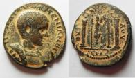 Ancient Coins - Phoenicia. Byblos under Diadumenian (AD 217-218). AE 25mm, 9.22g.