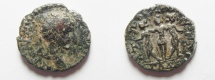Ancient Coins - DECAPOLIS. GADARA. GORDIAN. THREE GRACES. AE 20