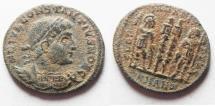 Ancient Coins - 	CONSTANTIUS II AE 3 . ANTIOCH