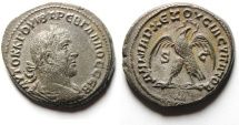 Ancient Coins - Syria, Antioch. Trebonianus Gallus. Billion Tetradrachm , Nice!