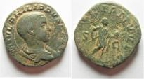Ancient Coins - PHILIP II AE SESTERTIUS. ROME MINT
