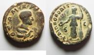 Ancient Coins - ARABIA, Philippopolis. Divus Julius Marinus. Died circa AD 246/7. Æ 23