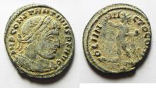 Ancient Coins - ORIGIANL DESERT PATINA. CONSTANTINE I AE FOLLIS