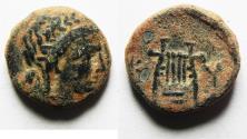 Ancient Coins - KYRENAICA, Kyrene. temp. Magas. As king of Kyrene, circa 282/75-261 BC. Æ 16