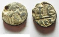 Ancient Coins - BYZANTINE: Constans II (AD 641-668). AE , 12 nummi. Alexandria mint