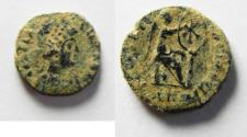 Ancient Coins - ORIGINAL DESERT PATINA: Aelia Flacilla, wife of Theodosius, 383-386 AD, AE 4. ANTIOCH MINT