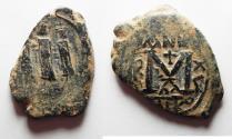 Ancient Coins - BYZANTINE. HERACLIUS AE FOLLIS