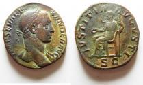 Ancient Coins - SEVERUS ALEXANDER AE SESTERTIUS.