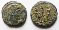 Ancient Coins - CONSTANTINE I AE 4 . AS FOUND