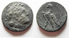 Ancient Coins - PTOLEMAIC KINGDOM. PTOLEMY V. SILVER DIDRACHM