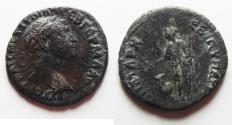 Ancient Coins - decapolis. bostra. trajan silver drachm