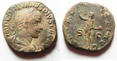Ancient Coins - 	GORDIAN III AE SESTERTIUS