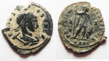 Ancient Coins - CRISPUS AE FOLLIS. ORIGINAL DESERT PATINA