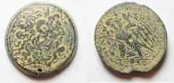 Ancient Coins - GREEK. Egypt. Ptolemaic kingdom. Ptolemy III Euergetes (246-222 BC). AE (36mm, 37.85g). Alexandreia mint
