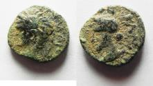 Ancient Coins - MESOPOTAMIA? CARACALLA AE 12