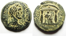 Ancient Coins - Egypt. Alexandria under Antoninus Pius (AD 138-161). AE drachm. Struck in regnal year 12 (AD 148/9).