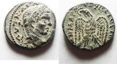 Ancient Coins - SELEUCIS and PIERIA, Antioch. Caracalla. AD 198-217. AR Tetradrachm