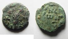 Ancient Coins - JUDAEA. PORCIUS FESTUS UNDER NERO AE PRUTAH