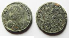 Ancient Coins - AS FOUND CONSTANTIUS II AE CENT.