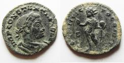 Ancient Coins - NICE AS FOUND CONSTANTINE I AE FOLLIS