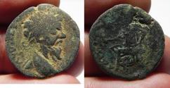 Ancient Coins - ARABIA. PETRA . SEPTIMIUS SEVERUS AE 23