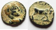 Ancient Coins - ORIGINAL DESERT PATINA. ARABIA. PETRA. ELAGABALUS AE 18