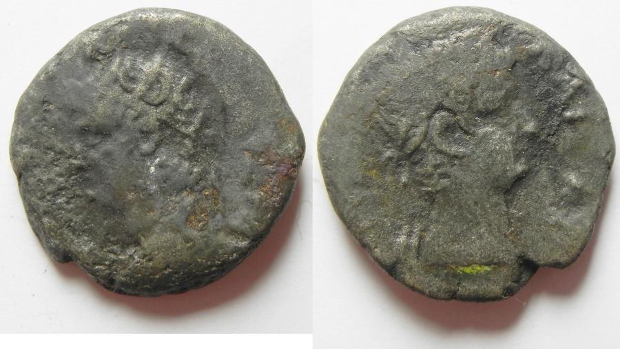 Ancient Coins - EGYPT.ALEXANDRIA . NERO BILLON TETRADRACHM