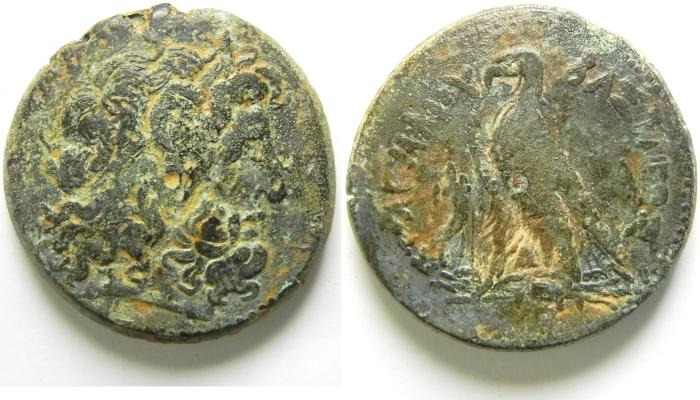 Ancient Coins -   PTOLEMAIC KINGDOM , PTOLEMY III LARGE AE 42MM , 64.74 GM  PTOLEMAIC KINGDOM , PTOLEMY III LARGE AE 42