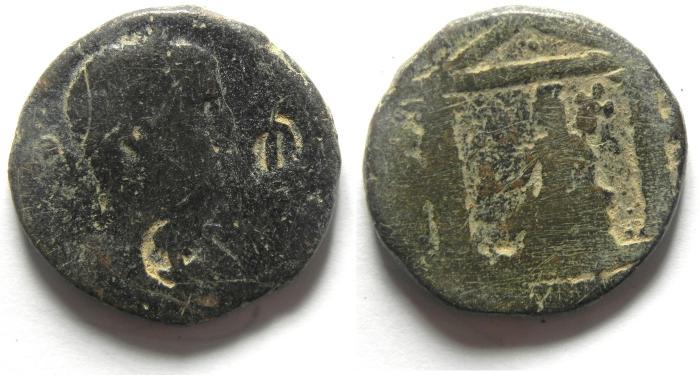 Ancient Coins - ARABIA - PETRA , GETA AE 26