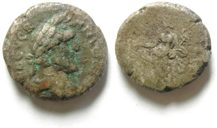 Ancient Coins - ALEXANDRIA , EGYPT  , ANTONINUS PIUS  BILLON TETRADRACHM