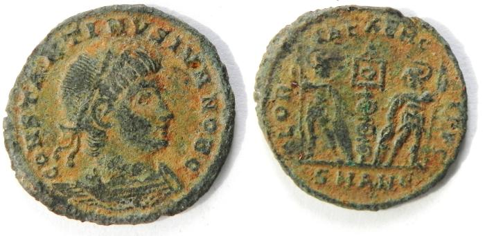 Ancient Coins - CONSTANTINE II E 3 , NICE