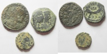 LOT OF 3 ANCIENT COINS FROM THE HOLY LAND.