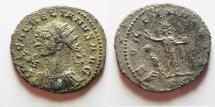 Ancient Coins - BEAUTIFUL AURELIAN SILVERED AE ANTONINIANUS