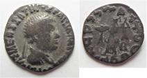 Indo - greek , Bactrian , Apollodotus II 110-80 BC AR Drachm of Taxila