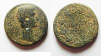 Ancient Coins - SYRIA. ANTIOCH . AUGUSTUS AE 23MM . 8.50GM