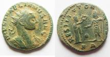 Ancient Coins - AURELIAN AE  ANTONINAIANUS