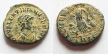 Ancient Coins - Valentinian II. AD 375-392. AE 4