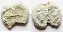 Ancient Coins - BYZANTINE LEAD TOKEN. 600 - 700 A.D