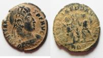 Ancient Coins - CONSTANS AE 4 . AS FOUND