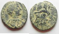 Ancient Coins - ARABIA. PETRA . GETA AE 23