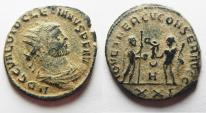 Ancient Coins - DIOCLETIANUS AE ANTONINIANUS AS FOUND