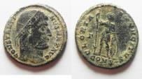 Ancient Coins - SCARCE CONSTANTINE I AE 3 . NICE DESERT PATINA