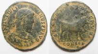 Ancient Coins - Julian II ( A.D. 360-363) . Æ maiorina.