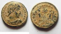 Ancient Coins - CONSTANTINE I AE 3 . NICE AS FOUND WITH DESERT PATINA