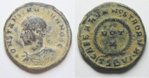 CONSTANTINE II AE 3 . AS FOUND