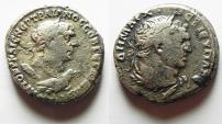 Ancient Coins - PHOENICIA. TYRE. TRAJAN SILVER TETRADRACHM WITH MELQART