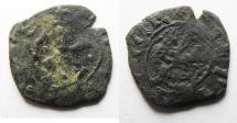 World Coins - CRUSADERS, Lusignan Kingdom of Cyprus. Anonymous. Time of Janus, 1398-1432, or John II, 1432-1458. BI Denier