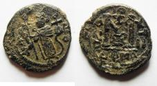 Ancient Coins - ARAB-BYZANTINE AE FALS. DAMASCUS MINT
